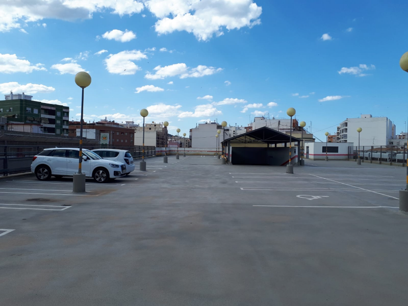 SISTEMA ONE SHOT CAR PARK DECK EN GANDIA