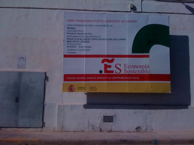 IMPERMEABILIZACIÓN CUBIERTA EDIFICIO SOCIOCULTURAL NULES