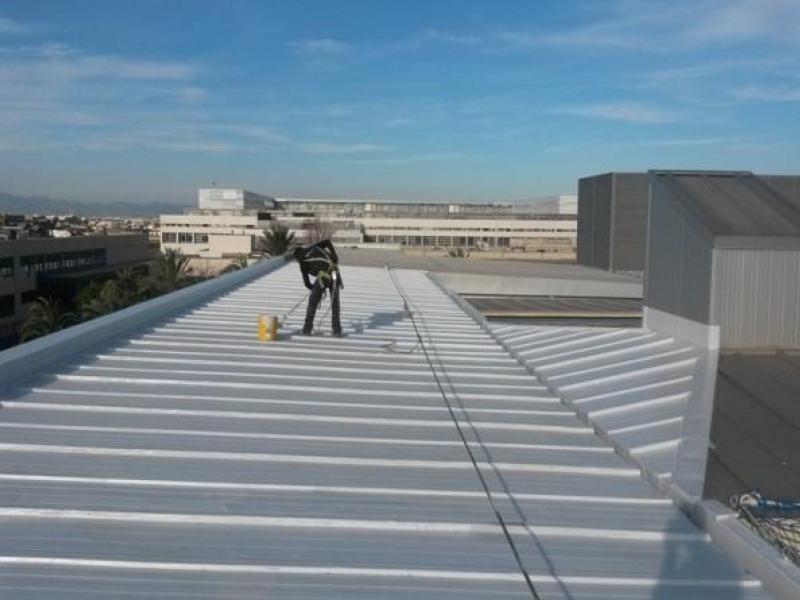Cubierta Arquitectura de la Universidad Politécnica de Valencia
